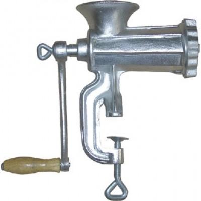 Hand Mincer (No. 10). 270(h) x 235(w)mm.