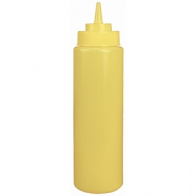Yellow Squeeze Sauce Bottle