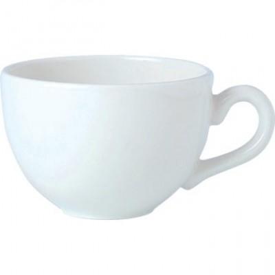 Steelite Simplicity White Low Empire Cup 16oz