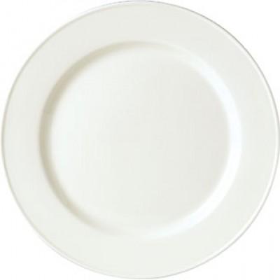 "Steelite Simplicity White Slimline Plate 8"""