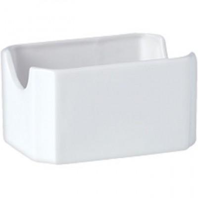 Steelite Simplicity White Packet Sugar Holder
