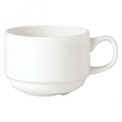 Steelite Simplicity White Stacking Cup 3 1/2oz
