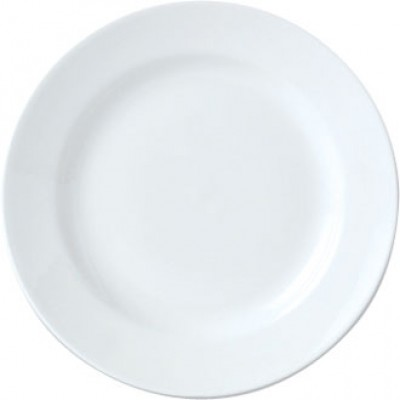 "Steelite Simplicity White Harmony Plate 11 3/4"""