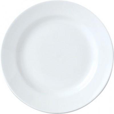 "Steelite Simplicity White Harmony Plate 8"""