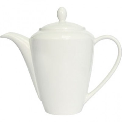 Steelite Simplicity White Harmony Coffee Pot 21oz