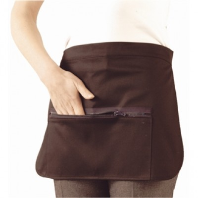 Money Pocket Apron with Zip