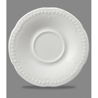 """Churchill Buckingham White Saucer 5 1/4"""""""