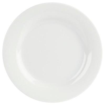 """Porcelite Banquet Wide Rim Plate 6.5"""""""