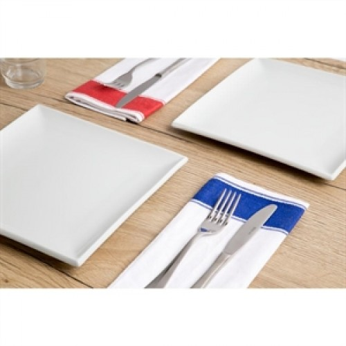 Olympia Gastro Napkins With Red Border B477 Red Moon