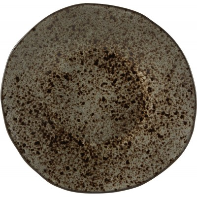Rustico Black Dessert Plate