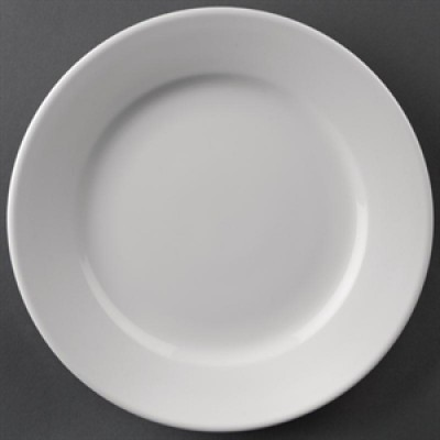 """Athena Hotelwear Wide Rimmed Plate 8"""""""