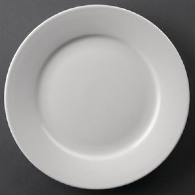 """Athena Hotelwear Wide Rimmed Plate 9"""""""