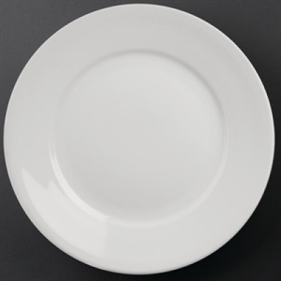 """Athena Hotelwear Wide Rimmed Plate 11"""""""
