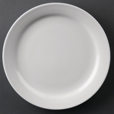"Athena Hotelware Narrow Rimmed Plate 6 1/2"""