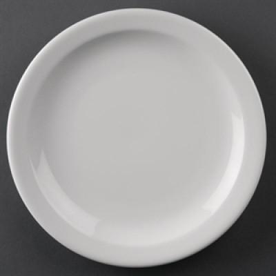 "Athena Hotelware Narrow Rimmed Plate 8"""