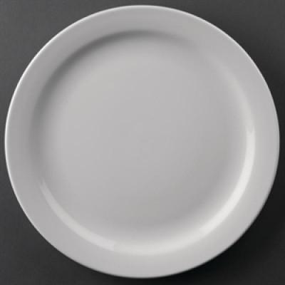 "Athena Hotelware Narrow Rimmed Plate 9"""