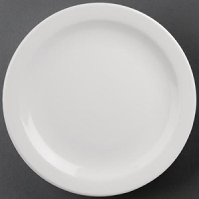 "Athena Hotelware Narrow Rimmed Plate 11"""