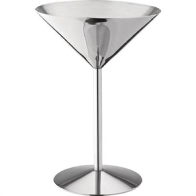 Utopia Stainless Steel Martini Glass