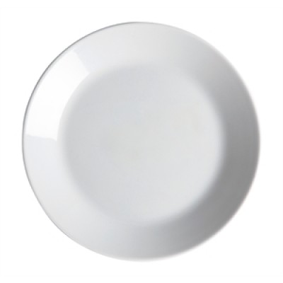 Royal Porcelain Classic White Narrow Rim Plate 150mm