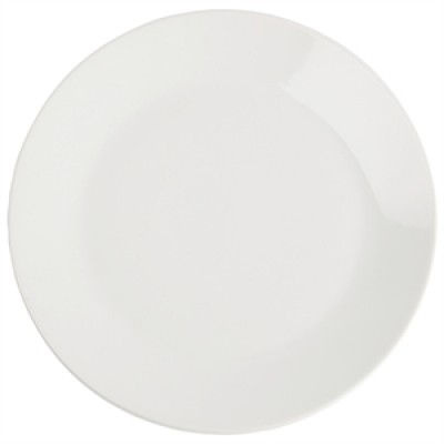 Royal Porcelain Classic White Narrow Rim Plate 170mm