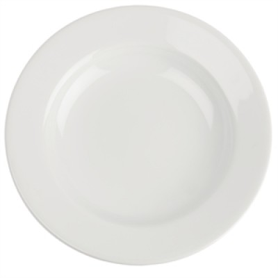 Royal Porcelain Classic White Wide Rim Plate 160mm
