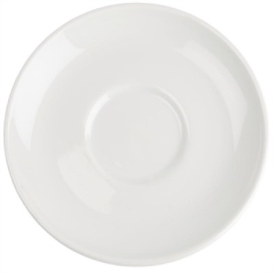 Royal Porcelain Classic White Saucer