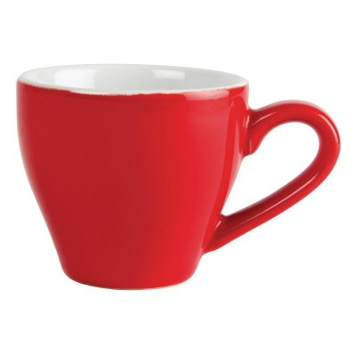 Olympia Cafe Espresso Cups Red
