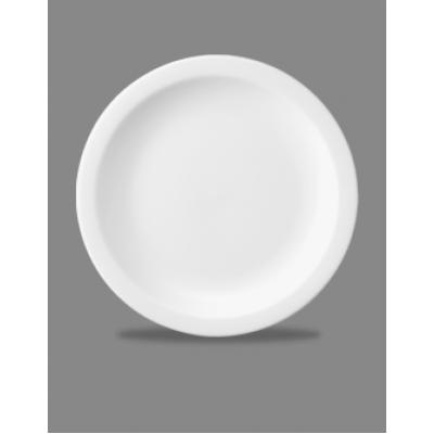 Churchill Plain Whiteware Nova Plate 6''