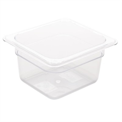 Polycarbonate Gastronorm Container - 1/6 Size