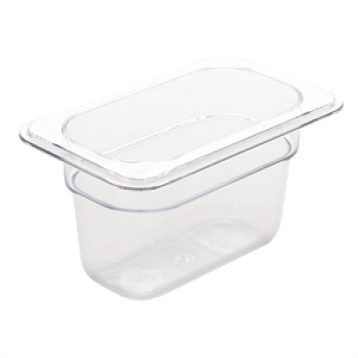 Polycarbonate Gastronorm Container - 1/9 Size