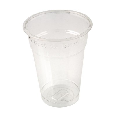 Disposable Half Pint to Brim Tumbler
