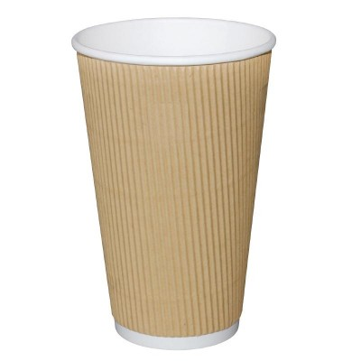 Fiesta Disposable Ripple Cups 16oz (25)