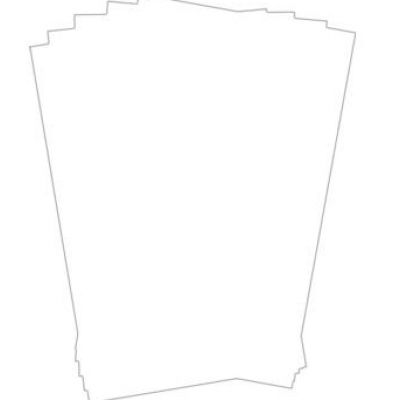 Plain Greaseproof Paper 25.5x20.25cm
