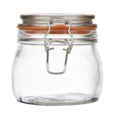 Clip Top Preserve Jar 500ml