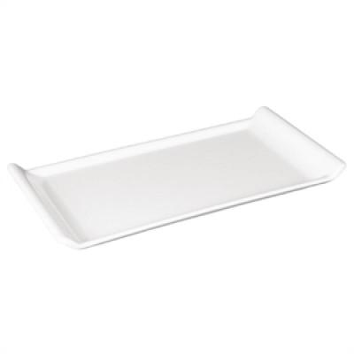 Kristallon Melamine Platter White 300 x 150mm