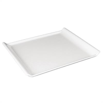Kristallon Melamine Platter White 300 x 250mm