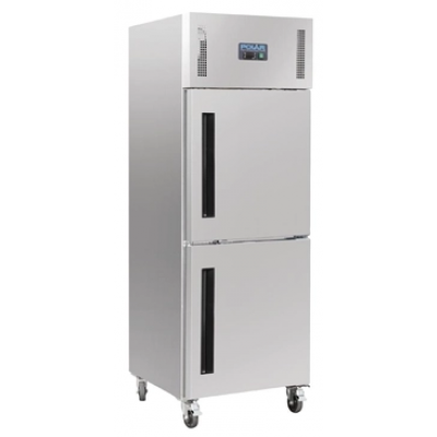 Polar CW193 Upright Stable Door Gastro Refrigerator 600Ltr