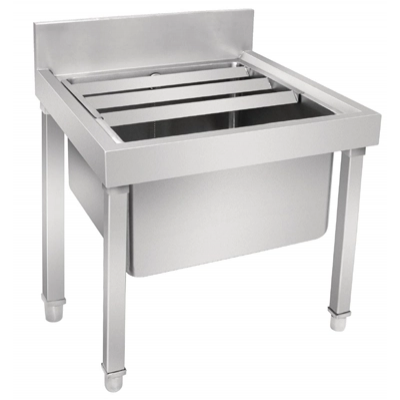 Vogue Stainless Steel Mop Sink