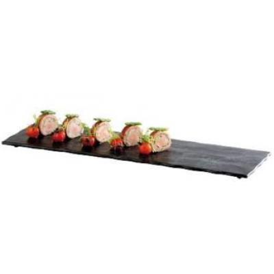 Granite Effect Melamine Tray 53 x 16.2cm