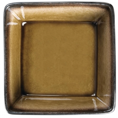 Olympia Nomi Square Bowl Yellow 110mm