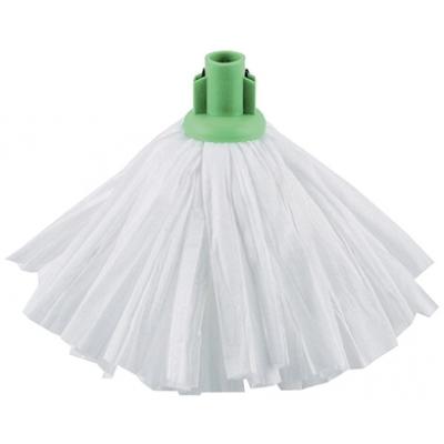 Jantex Standard Big White Socket Mop Green