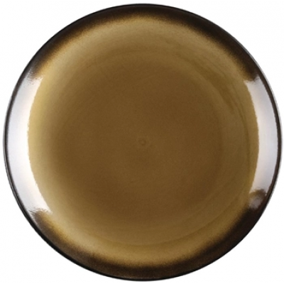 Olympia Nomi Round Coupe Plate Yellow 198mm