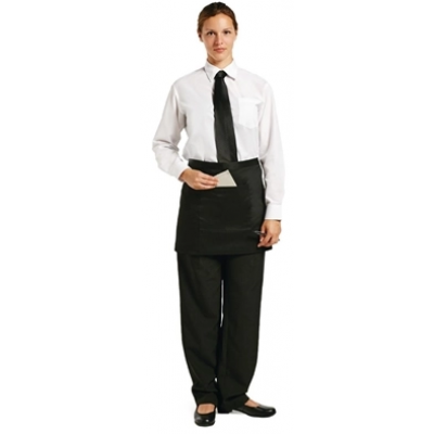 Uniform Works Short Bistro Apron Black