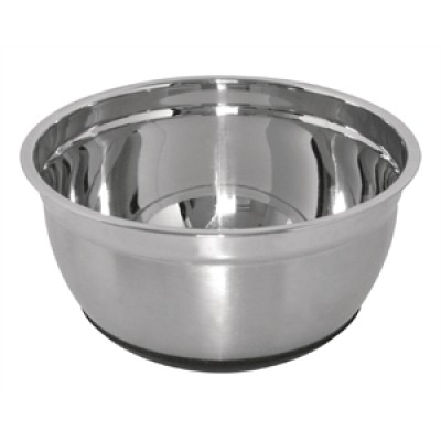 Vogue Stainless Steel Bowl with Silicone Base