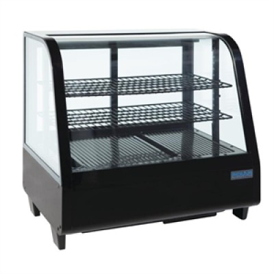 Polar CC611 Countertop Commercial Fridge  - Black