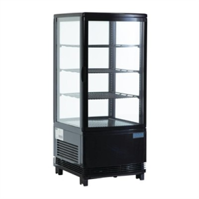 Polar G211 Chilled Display Cabinet - Black