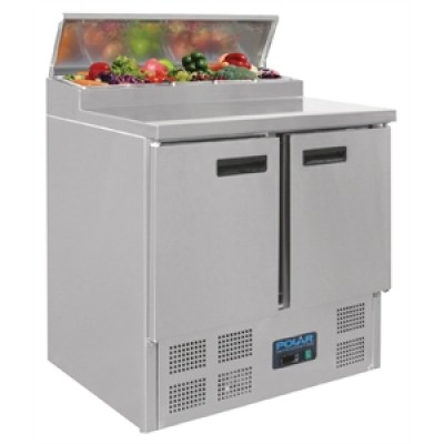 Polar G604 Prep Counter - Stainless Steel
