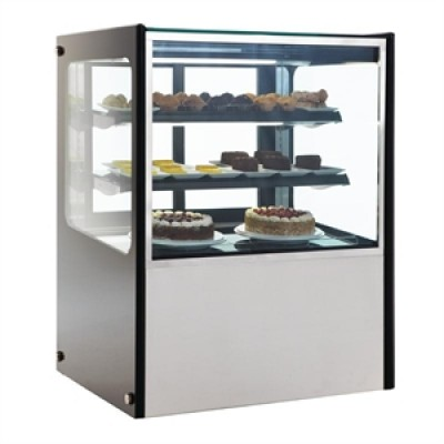 Polar GG216 Refrigerated Deli Showcase - Stainless Steel