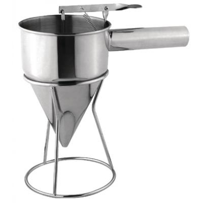 Vogue GG759 Stainless Steel Piston Funnel 1.3ltr