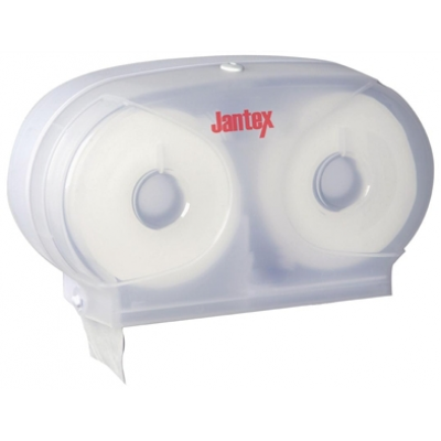 Jantex GL062 Micro Twin Toilet Roll Dispenser